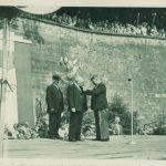 Georges Fritz décoré du Mérite agricole par le maire Louis Schlosser