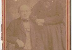 Jacques Fritz et son épouse Suzanne Fritz, vers les années 1850/1860